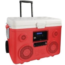 CA-E065R by PREFERRED TOOL & EQUIPMENT/KTI - KoolMax Bluetooth Cooler Audio - Red