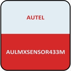 MXSENSOR433M by AUTEL - Metal Stem 433Mhz Clamp In TPMS Sensor