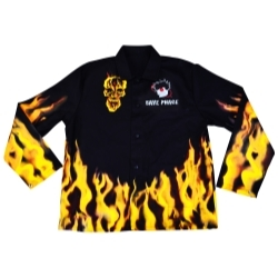 """3012428 by SAVE PHACE - """"Fired Up"""" Welding Jacket - Size L"""