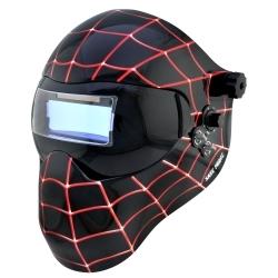 """3012589 by SAVE PHACE - """"Miles Morales Black Spiderman"""" EFP E-Series Helmet"""