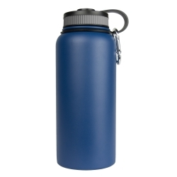 WB-32BL by SARGE - 32oz Blue Stainless Steel Water Bottle