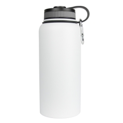 WB-32WH by SARGE - Stainless Steel Water Bottle - White