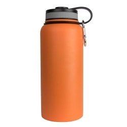 WB-32OR by SARGE - 32oz Orange Stainless Steel Water Bottle