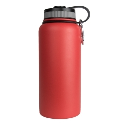 WB-32RD by SARGE - Stainless Steel Water Bottle - Red
