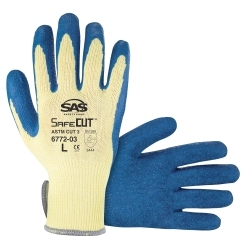 6772-05 by SAS SAFETY CORP - 10 Gauge Aramid Yarn Glove  - XXL