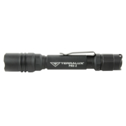 TLF-PRO2-BLK by TERRALUX, INC - PRO-2 Matt-Black Flashlight