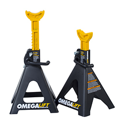 32068 by OMEGA - 6 Ton Double Locking Ratchet Style Jack Stands