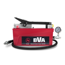 70129 by TIGER TOOL - BVA Hydraulic Pump With 6 FT Hose & Gauge