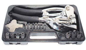 8500 by AES INDUSTRIES - Metal Hand Punch