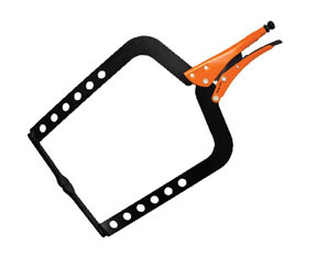 "GR13420BK by ANGLO AMERICAN ENTERPRISES CORP. - Grip-On® 20"" Steel Long Reach C-Clamp"