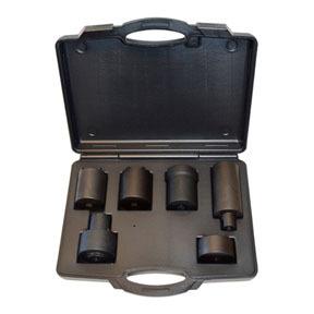 839 by CAL-VAN TOOLS - 6 Piece 4WD Locknut  Socket Set