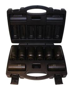 976 by CAL-VAN TOOLS - 12-Point Metric Axle Nut Socket Set