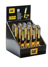 CT100012 by CALIFORNIA AUTO TECH - Yellow Pocket COB Work Light, 12-Pack Display