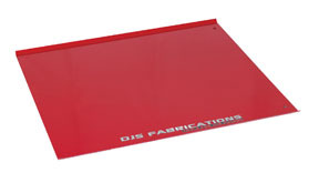 "107 by DJS FABRICATIONS - Frame Machine Plates ""Chief Style"""