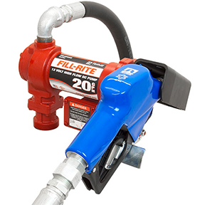 FR4210GARC by FILL-RITE - 20 GPM High-Flow 12V DC Pump