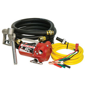 RD812NH by FILL-RITE - 12V DC Portable Pump with Hose and Nozzle