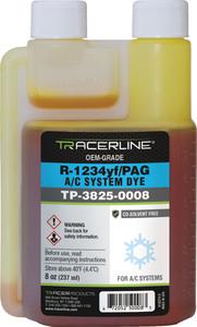 TP-3825-0008 by TRACERLINE - Fluoro-Lite® R-1234yf/PAG Bottled Dye, 8 oz.