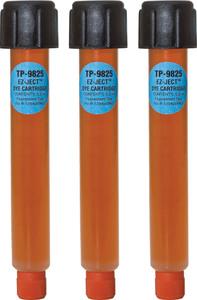 TP-9825-0301 by TRACERLINE - EZ-Ject™ R-1234yf/PAG Multi-Dose A/C Dye Cartridges, 8-Pack, 0.5 oz.