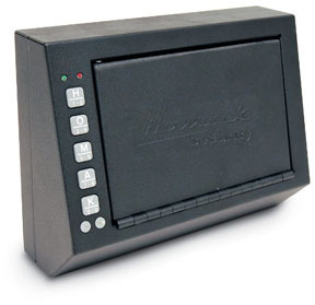 "HS10036683 by HOMAK - Electronic Access Pistol Box, 10x3.5x7.5"""
