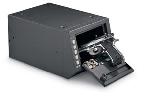 HS10036685 by HOMAK - Electronic Access Pistol Box, 10x14.25x7.5""