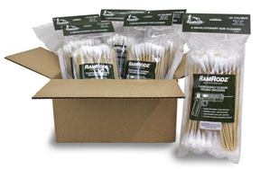 11800 by INNOVATIVE PRODUCTS OF AMERICA - RamRodz® Barrel & Breech Cleaners, 800 Pack