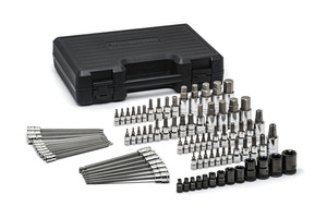 "80742 by GEARWRENCH - 84 Pc. ¼"", 3/8"", and ½"" Drive Torx® Set"