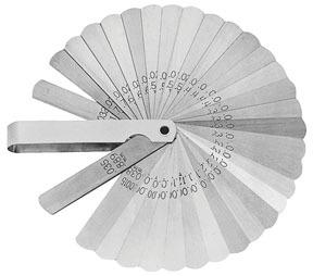 36A by LANG - 32-Blade Feeler Gauge