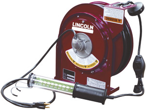91035 by LINCOLN INDUSTRIAL - HEAVY DUTY LED LIGHT REEL