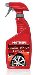 5824 by MOTHERS WAX & POLISH - Pro-Strength Chrome Wheel Cleaner- 24oz.