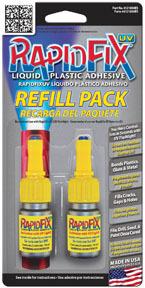 6121830 by RAPIDFIX - RapidFix 10ml UV Automotive Refill Pack