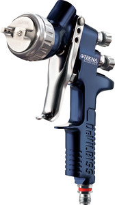 703895 by TEKNA - TEKNA® Basecoat 1.3 and 1.4 Nozzle HV20 (HVLP) Spray Gun with 900cc Aluminum Cup