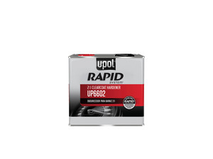 UP6602 by U-POL PRODUCTS - Rapid System Clearcoat Hardener, Clear, 5lbs