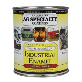 AGS5467-4 by VOGEL AUTOMOTOVE COATINGS - Industrial Enamel Massey Ferguson Red, Quart