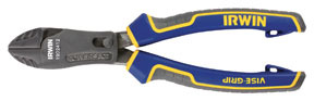 """1902412 by IRWIN VISE-GRIP - Max Leverage Diagonal Cutting Pliers with PowerSlot, 7"""""""