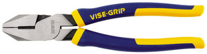 2078209 by IRWIN VISE-GRIP - Lineman's Pliers, 9-1/2""