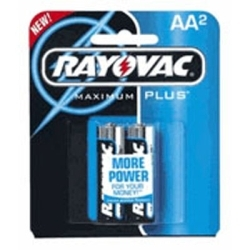 815-2 by RAYOVAC BATTERIES - Alkaline AA Battery - 2 Pack