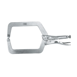 """9DR by VISE GRIP - The Original™ Locking C-Clamps with Regular TIps, 9"""" with 4-1/2"""" Jaw Capacity"""