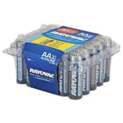 815-30E by RAYOVAC BATTERIES - Rayovac Alkaline AA Batteries - Reclosable 30 Pro Pack