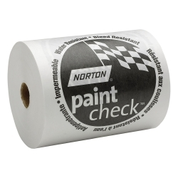 "00404 by NORTON - 18"" x 750' - White Polycoated Masking Paper"