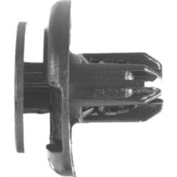6114 by AUTO BODY DOCTOR - Push-type Retainers, Black Nylon, Size: 8mm, Stem: 11mm, Head: 20mm, Honda 91512-SX0-003, Qty: 10