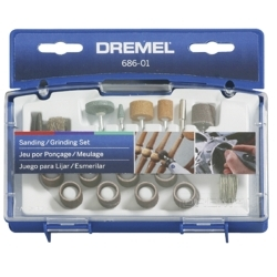 686 by DREMEL - 31 Piece Sanding/Grinding Bit Set