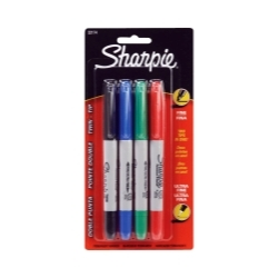 32174-SH by SHARPIE - Sharpie Twin Tip 4ct Colors