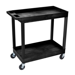 EC11 by LUXOR - Luxor E Series Two Shelf Utility Cart