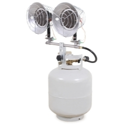 MH-0030-IM10 by MI-T-M - Tank-Top Propane Double Heater, 30,0000 BTUs (propane tank not included)