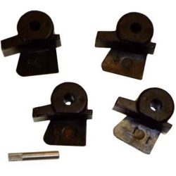 TI24016079 by THE MAIN RESOURCE - Plastic Duck Bill Insert Kit For Accuturn Mount/ Demount Head (4 Pack)