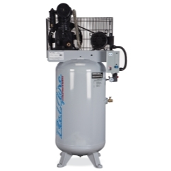 418VLE by BELAIRE - 7.5HP 80 Gallon 1 Phase Elite Compressor - Cast Iron