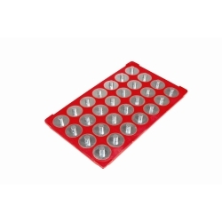 72422 by MAGCLIP - Original Socket Caddy Red 3/8""