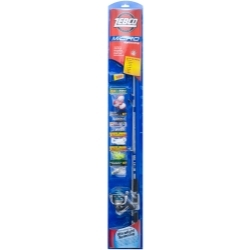 MICROSP by ZEBCO - Micro Spinning Combo Fishing Rod and Reel With Assorted Tackle