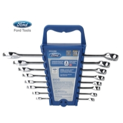 FHTEI078IN by FORD TOOLS - 8 Piece Combination Wrench Set, SAE