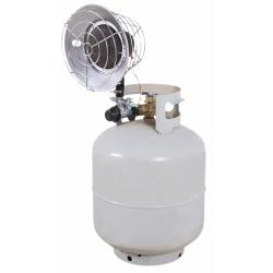 MH-0015-IM10 by MI-T-M - Single Tank Top Radiant Propane Heater, 15,0000 BTU's